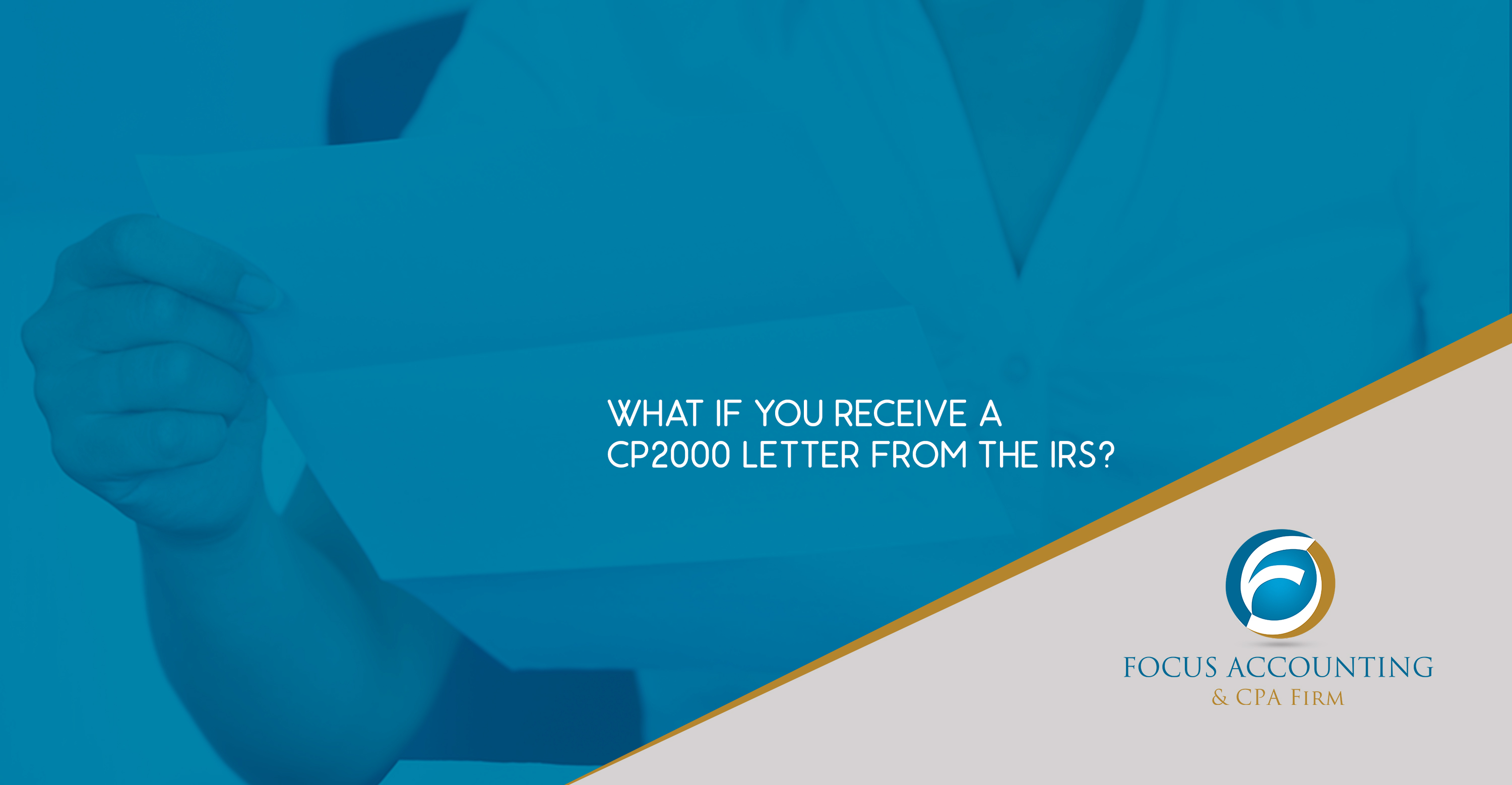 What if You Receive a Cp2000 Letters from the Irs