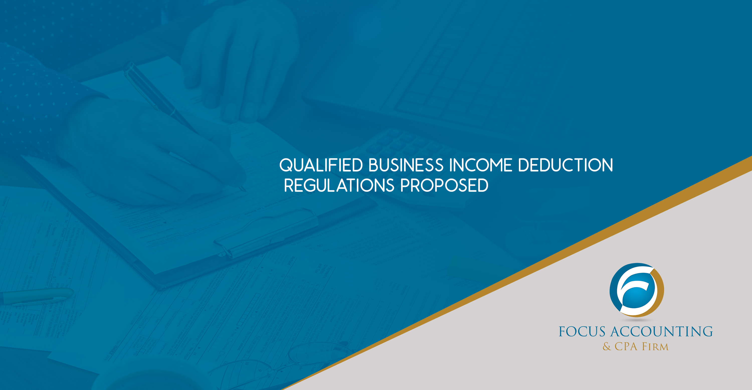 Qualified Business Income Deduction Regulations Proposed